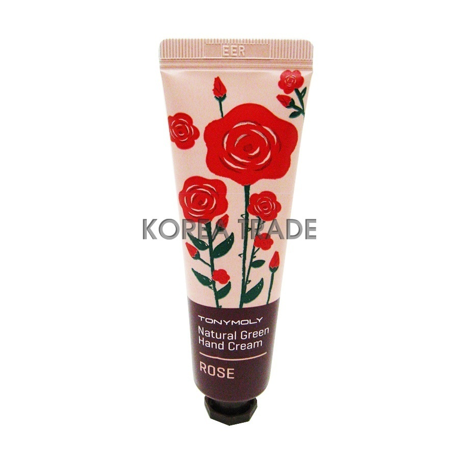 TONY MOLY Natural Green Hand Cream Rose