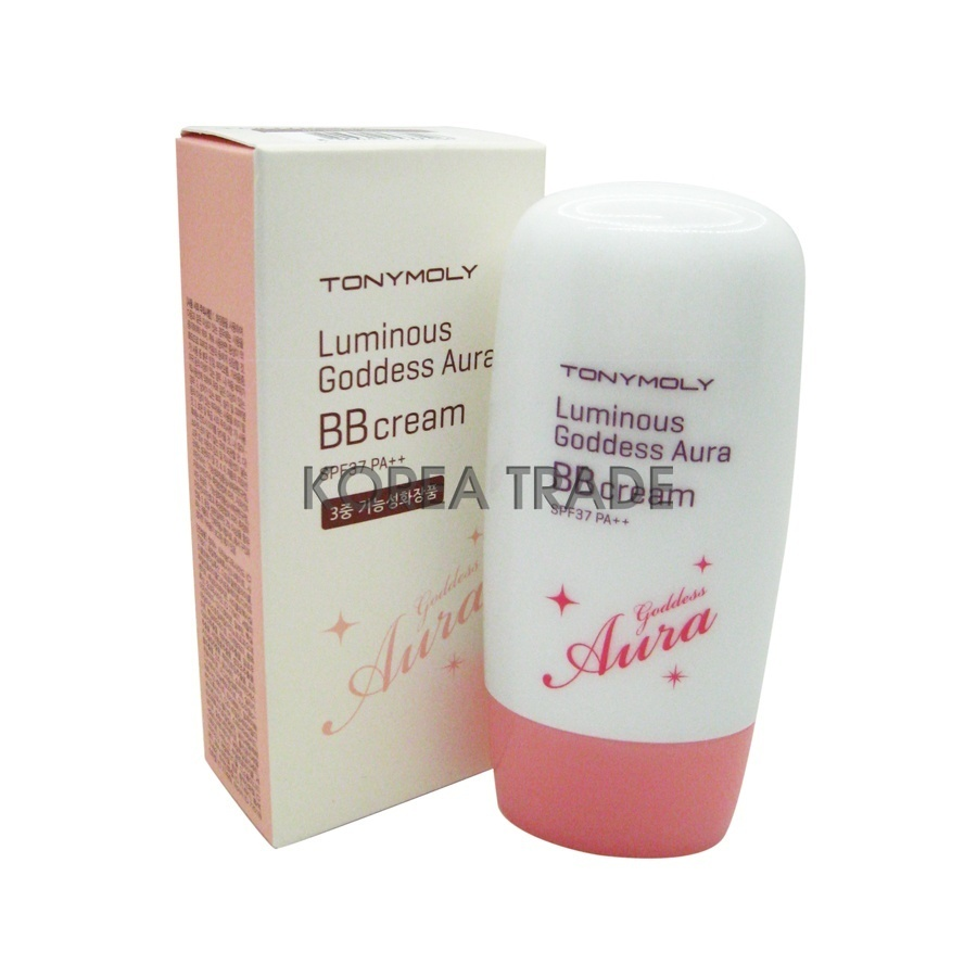 TONY MOLY Luminous Goddess Aura BB Cream #02 lm Beige BB-