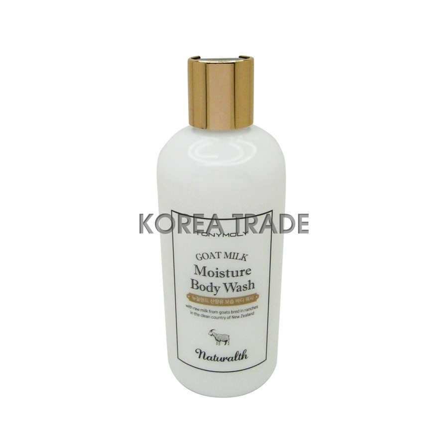 TONY MOLY Naturalth Goat Milk Moisture Body Wash