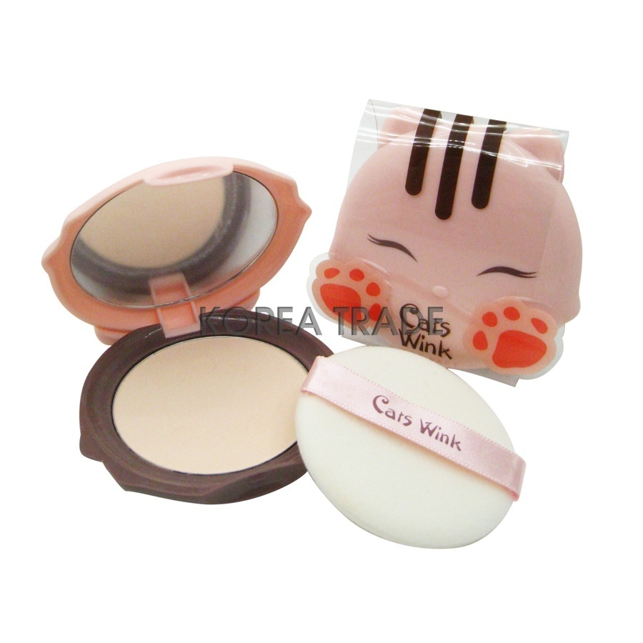 TONY MOLY Cats Wink Clear Pact #01 Clear Skin