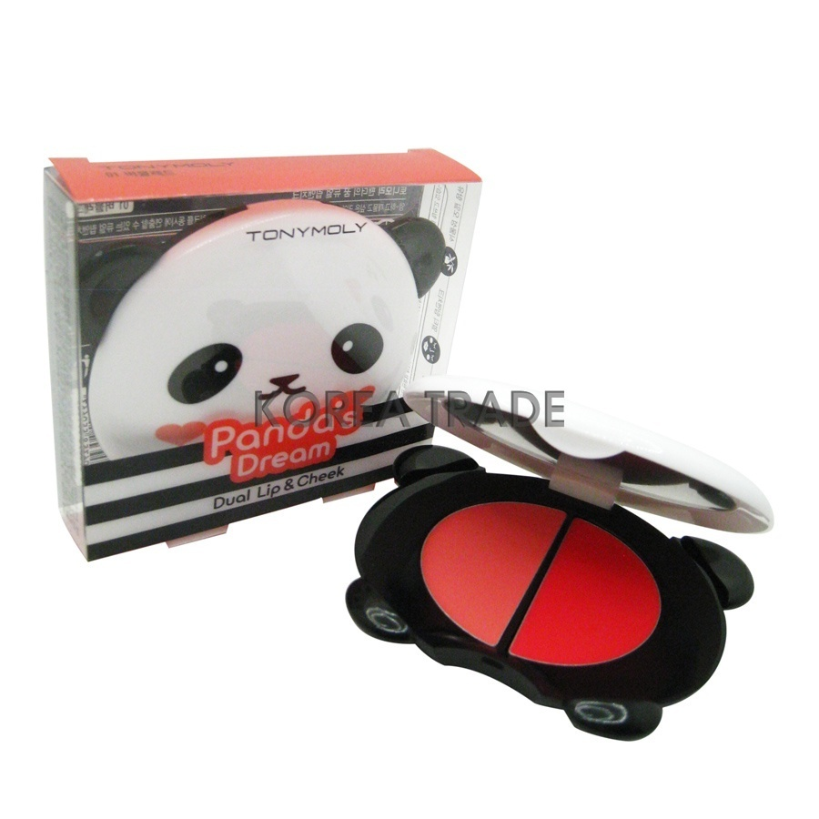 TONY MOLY Panda's Dream Dual Lip & Cheek #02 Pink Baby +