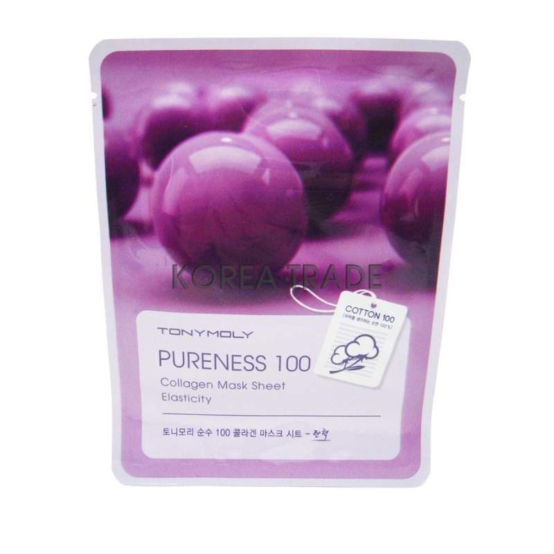 TONY MOLY Pureness 100 Collagen Mask Sheet Elasticity оптом
