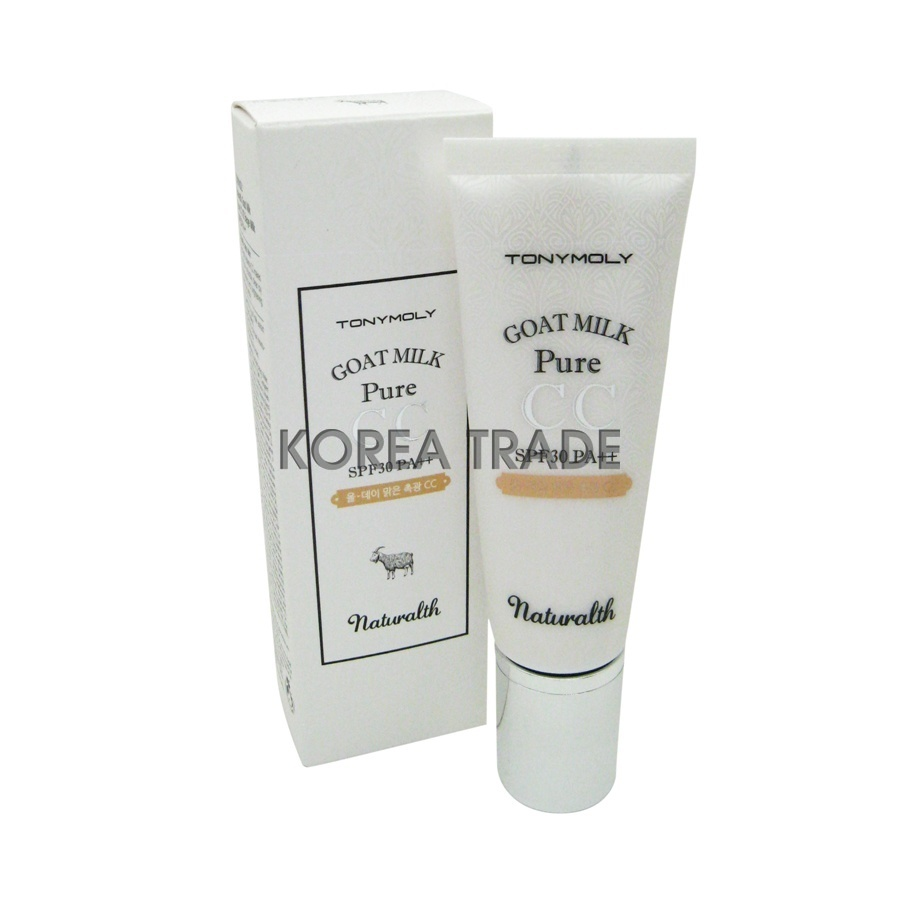 TONY MOLY Naturalth Goat Milk Pure CC SPF30 PA++ #02 Beige Milk -