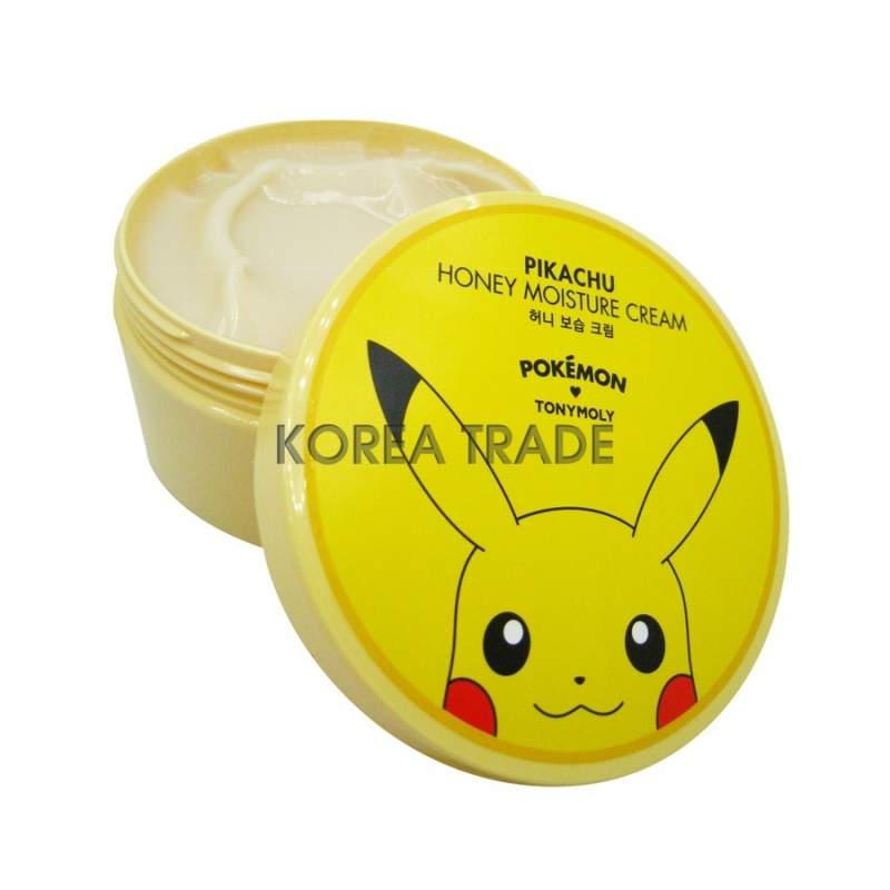 TONY MOLY Honey Moisture Cream (Pokemon Edition) #Pikachu