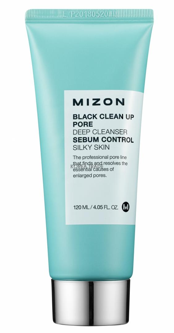MIZON Black Clean Up Pore Deep Cleanser -