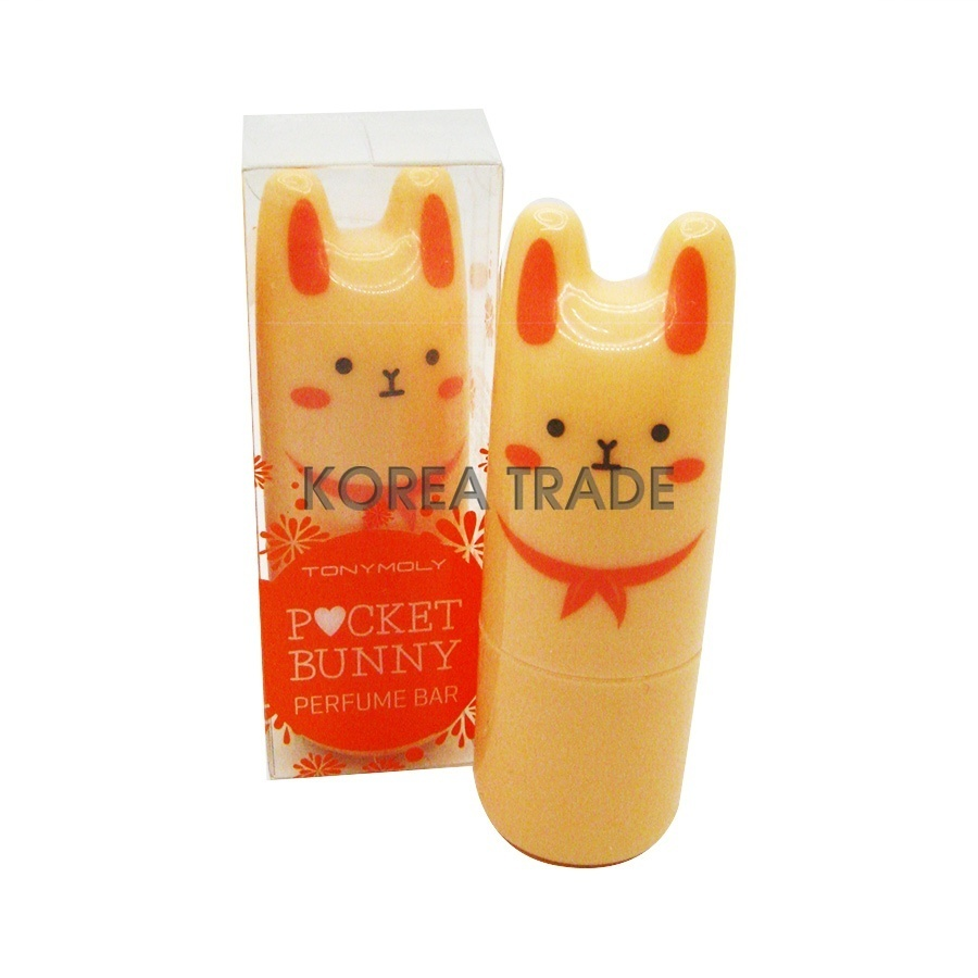 TONY MOLY Pocket Bunny Perfume Bar #02 Juice Bunny -
