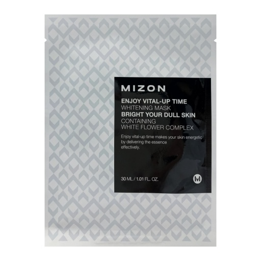 MIZON ENJOY VITAL-UP TIME WHITENING MASK оптом