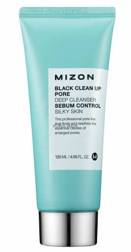 MIZON Black Clean Up Pore Deep Cleanser - оптом